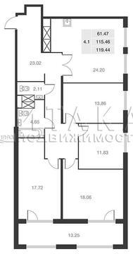 Объявление №34502500: Квартира 4 комн. Санкт-Петербург, Серебристый б-р., д. 19,