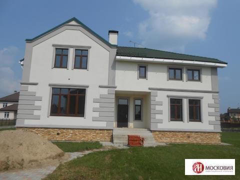 Дом 330 кв.м, 32 км от МКАД Киевское шоссе, участок 27 соток - Фото 1