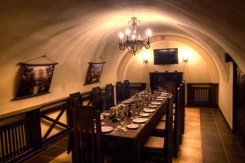 Кафе в историческом центре города Витебск, Беларусь. - Фото 4