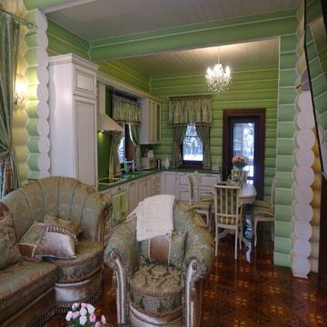 Дом из оцилиндрованного бревна 183 кв.м. с участком 15 соток. - Фото 5