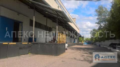 Аренда помещения пл. 1250 м2 под склад, м. Варшавская в складском . - Фото 5
