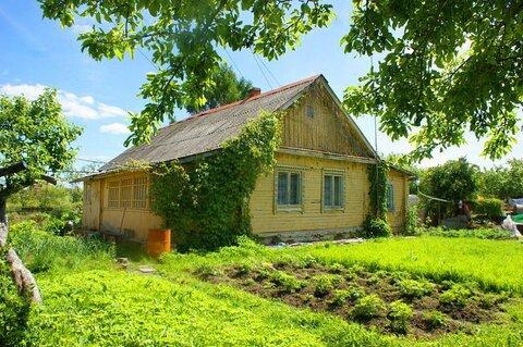 Дом с газом на участке 22 сот. в крупном поселке Волоколамского района - Фото 1