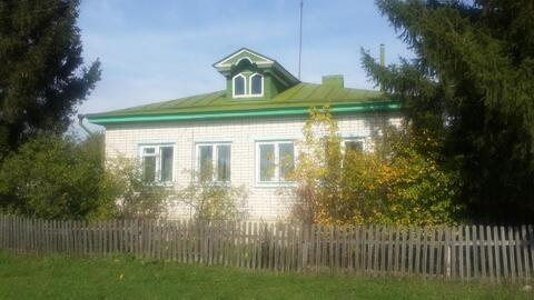 Добротный дом 130 кв.м. в Воротынском районе - Фото 1