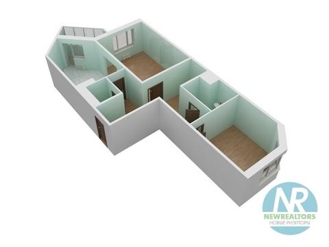 Продается 2 комнатная квартира в ЖК Зеленые Аллеи - Фото 2