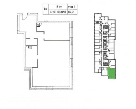 Продажа 3х комнатной квартиры в доме бизнес-класса - Фото 3