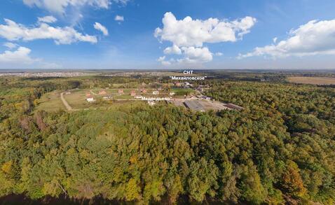 При лесной участок в формирующемся поселке. Новая Москва. - Фото 1