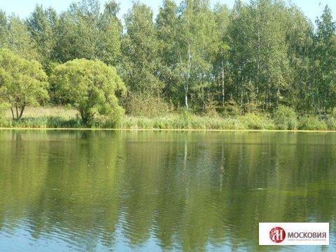 Участок 14.53 соток около озера. 30 км от МКАД. Прописка Москва. - Фото 3