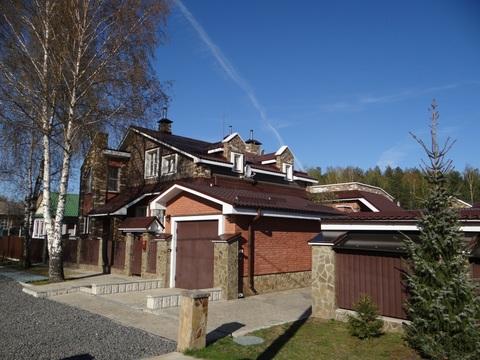 Дом с участком в г. Кимры рядом с лесом и гаражом для катера на воде - Фото 1