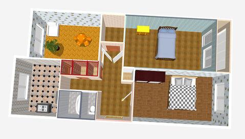 Продажа просторной 3-х комнатной квартиры за малую цену - Фото 1