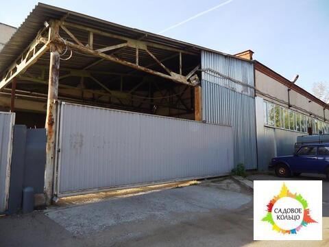 Теплый склад на первом этаже офисно-производственного комплекса, 400 м - Фото 1