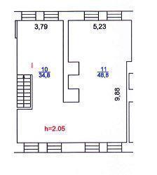 Офисный блок 168 м2, b-класс, 8 м.п. от Маяковской - Фото 4