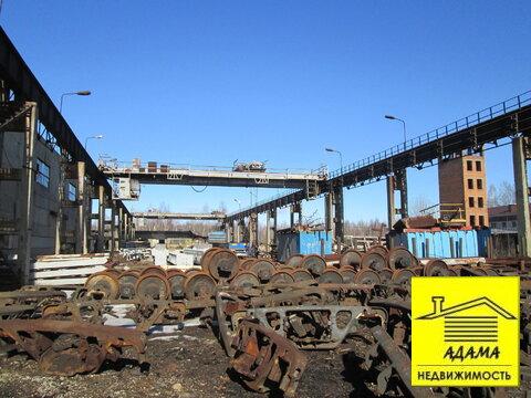 Площадка с твердым покрытием мостовыми кранами 5-10т тупик, весовая - Фото 1