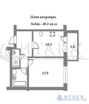 Продажа квартиры, Сертолово, Всеволожский район, Любимая ул - Фото 1