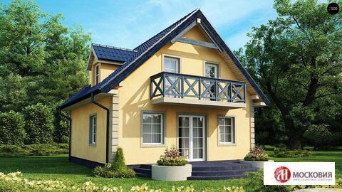Дом 107м2 на 8 сотках в Новой Москве, прописка, 25 км, Калужское шоссе - Фото 1