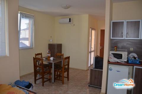 Недорогая квартира с одной спальней в Болгарии, Солнечный Берег - Фото 3