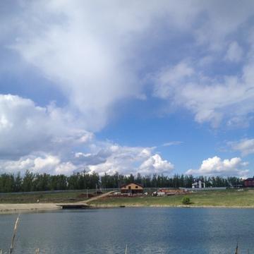 Квадрохаус на берегу пруда - Фото 2