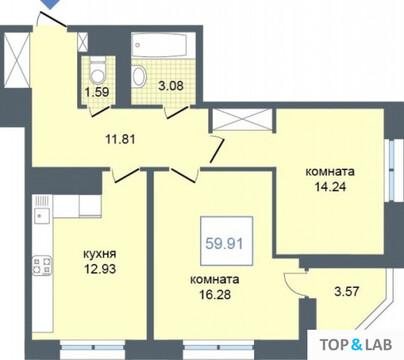 Продажа квартиры, м. Звездная, Среднерогатская ул. - Фото 1