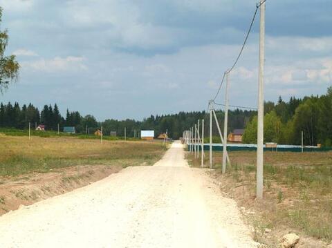 Участок 10 соток правильной формы, Можайский р-н, Минское шоссе, 97 км - Фото 3