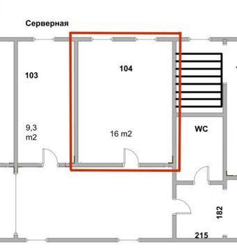 Офис на 3-х сотрудников в центре, 16 кв.м. - Фото 2