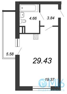 Продажа квартиры-студии, 29.43 м2 - Фото 2