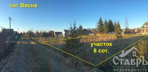 Гатчинский район, п.Вырица, 6 сот. СНТ - Фото 1
