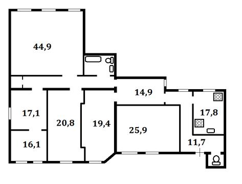 5-комнатная квартира в Центре - Фото 5