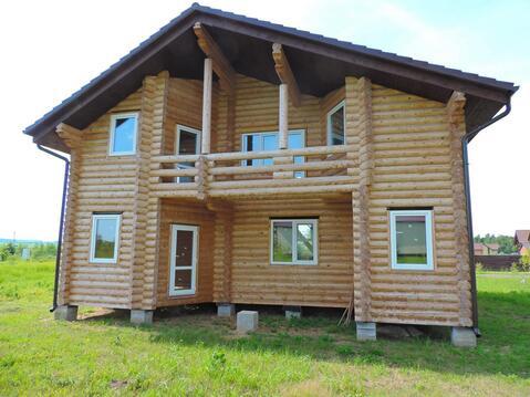 Новый дом из бревна - Фото 2