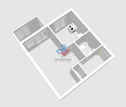 Квартира по адресу ул. Рихарда Зорге 36/1 - Фото 1