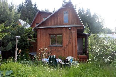 Дача у леса в Пыхчево. Теплый дом из бруса обложен кирпичом - Фото 3