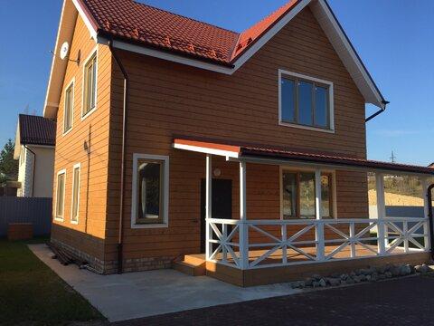 Продам дом 170 кв м на 7,5 сотках земли в 7 км от КАД в дер. Мистолово - Фото 1