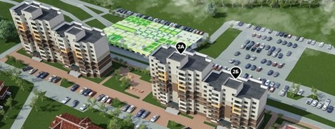 Продаётся 2-к квартиры на ул. квасово (поз. 2б) - Фото 1