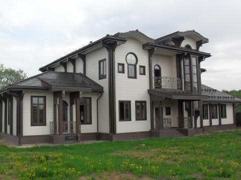 Продается новый коттедж 500 кв м в охр коттеджном поселке - Фото 1