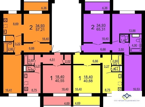 Продам 2-тную квартиру Александра Шмакова 26, 67 кв.м. 1эт. - Фото 2