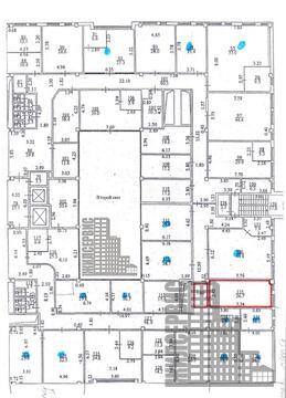 Офисное помещение с ремонтом, 62.5 кв.м, БЦ с инфраструктурой - Фото 1