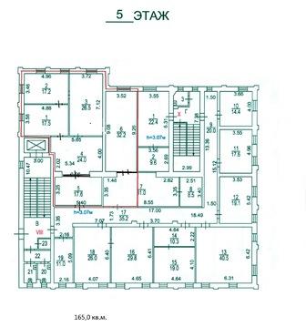 Офис 165м2 в аренду БЦ Минаевский м. Марьина роща - Фото 4