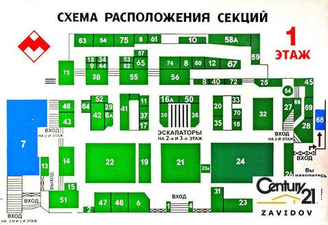 Аренда торговой площади 105 м2 в универмаге московский! - Фото 4