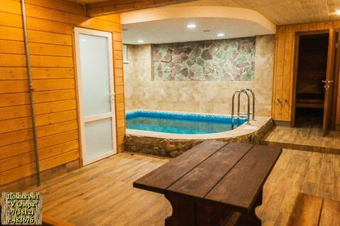 Домик с сауной, бассейном на сутки. vip отдых в Омске - Фото 4