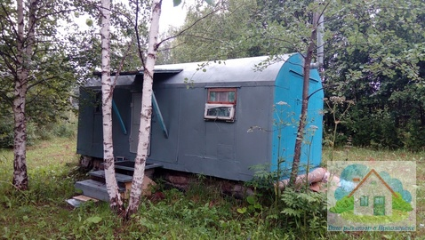 Большой садовый участок с вагончиком - Фото 2
