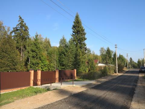Красивый участок 10 соток у самого леса, магистральный газ, охрана. - Фото 3