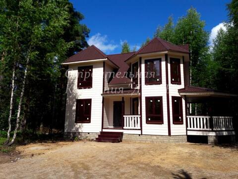 Новый загородный дом для постоянного проживания с панорамными окнами н - Фото 4