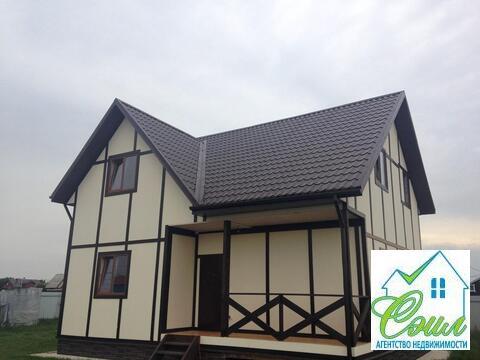 Дом 160 кв, м, 10 соток в деревне Шарапово - Фото 1