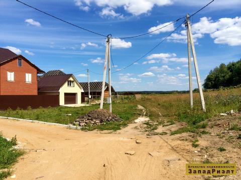 Участок 40 сот в п. Старониколаево, 1-я линия р. Москва, 75 км от МКАД - Фото 3