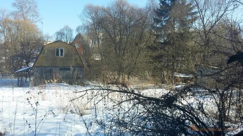 Продается земельный участок 14 соток со старым домом в дер.Марушкино - Фото 1