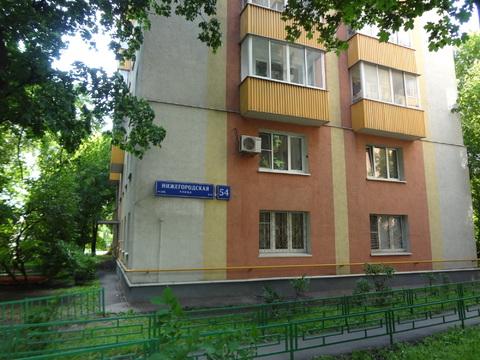 Продается 2-х комнатная квартира ул.Нижегородская д.54. - Фото 1