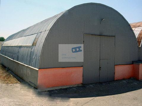 Неотапливаемый склад из металлопрофиля 156,2 кв.м. в районе ул.Оганова - Фото 1