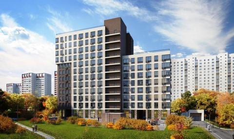 1-комн. квартира 38,7 кв.м. в доме комфорт-класса СВАО г. Москвы - Фото 1