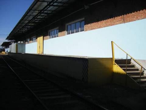 Склад с жд и авторампой 550 кв.м. на ул. Уральская - Фото 1