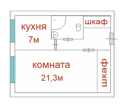 Продается 1-к.кв. 35.3 кв.м в кирпичном доме, Северный пр-кт - Фото 3