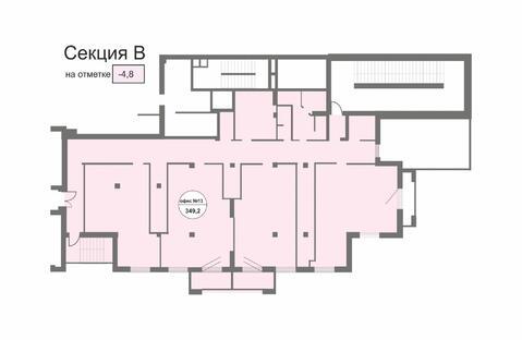 Торгово-офисное помещение от 335 кв.м.в Центре города - Фото 5