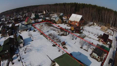 Дачный участок 10 соток с домом в центре с.Вороново Новая Москва - Фото 4